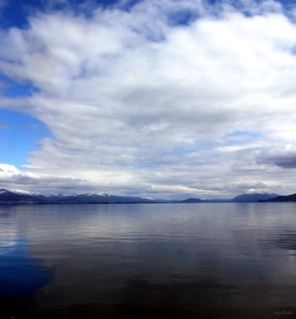 140 fjord and mountains