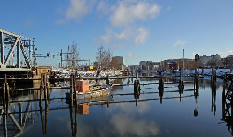 the canal Skansen