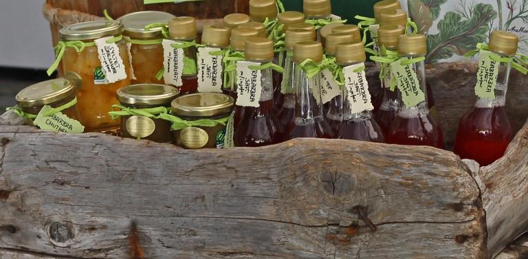 ecological lemonades and chutney