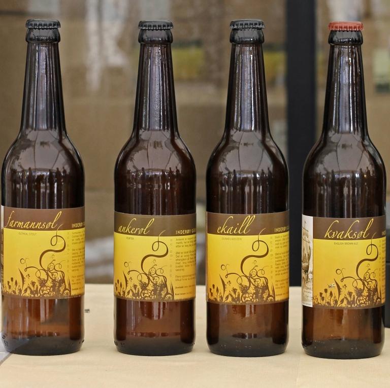 farm made beer