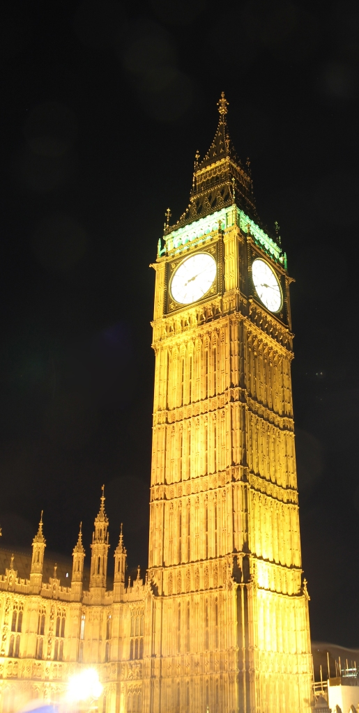 Big ben by night