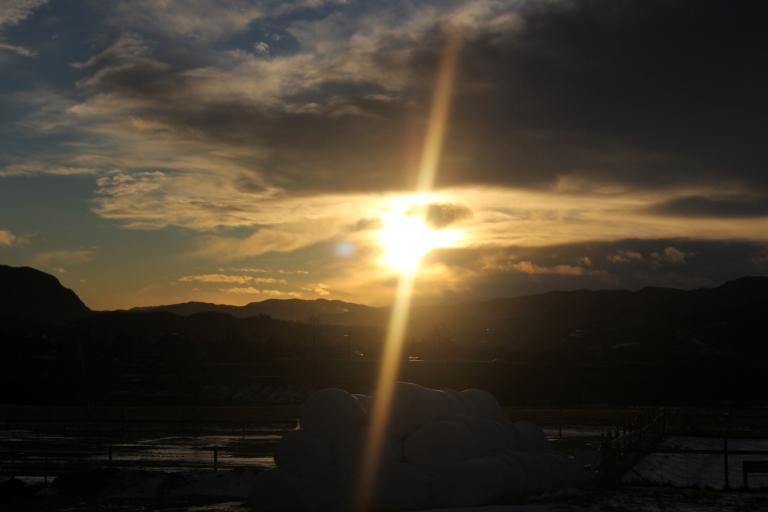 December sun Skjetlein