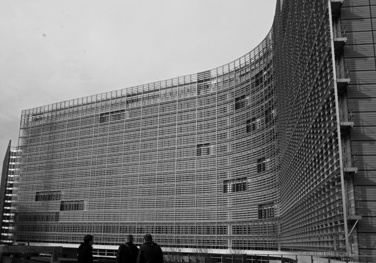 Berlaymont in bw