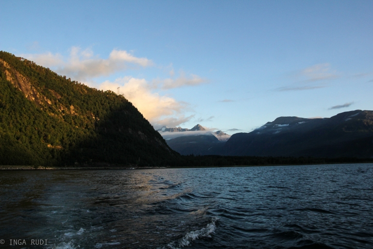 looking back on the fjord