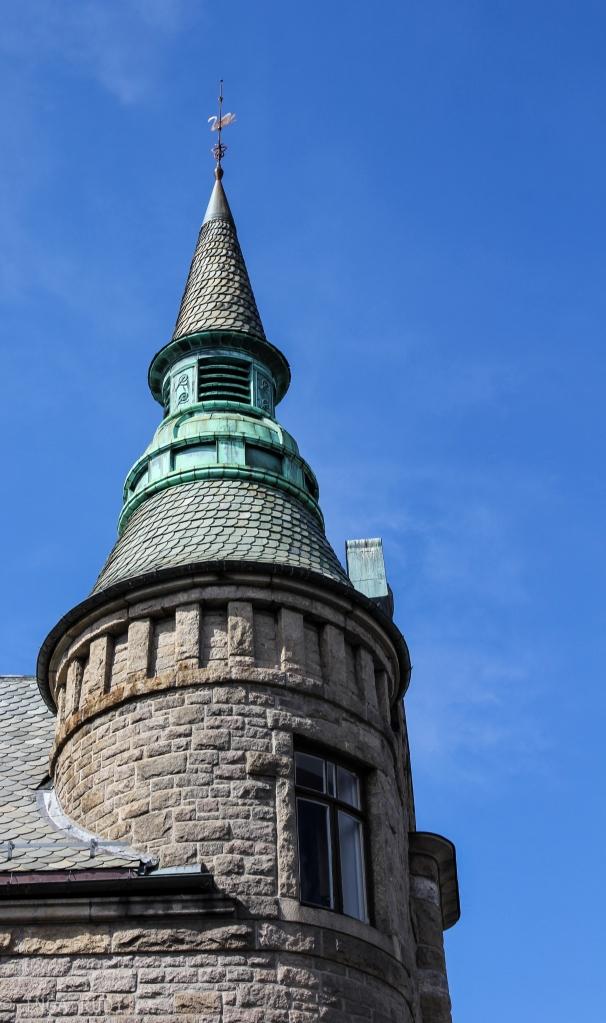 tower on building Ålesund