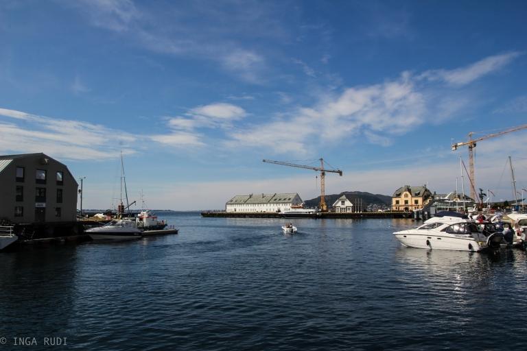 view from the marina Ålesund