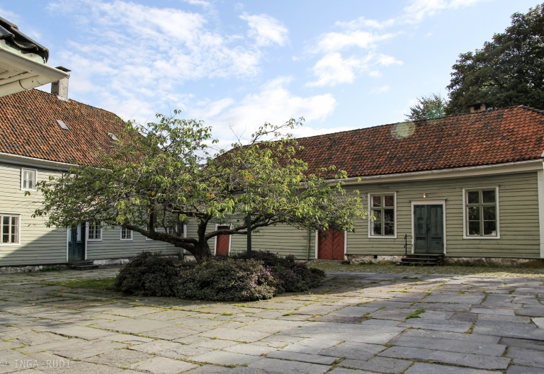 st jørgenshus Bergen courtyard