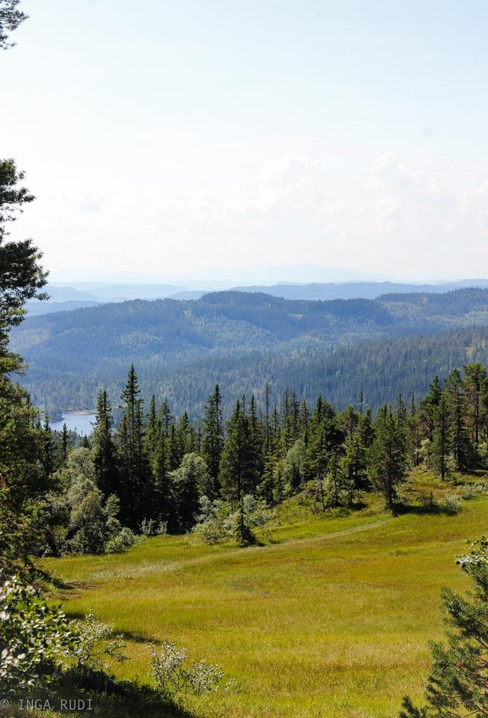 View towards Skjelbreia