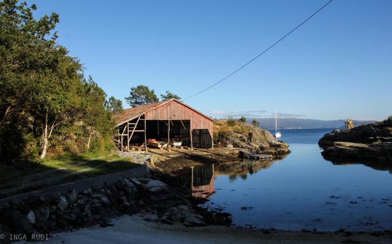 boat house Bekkjarvik