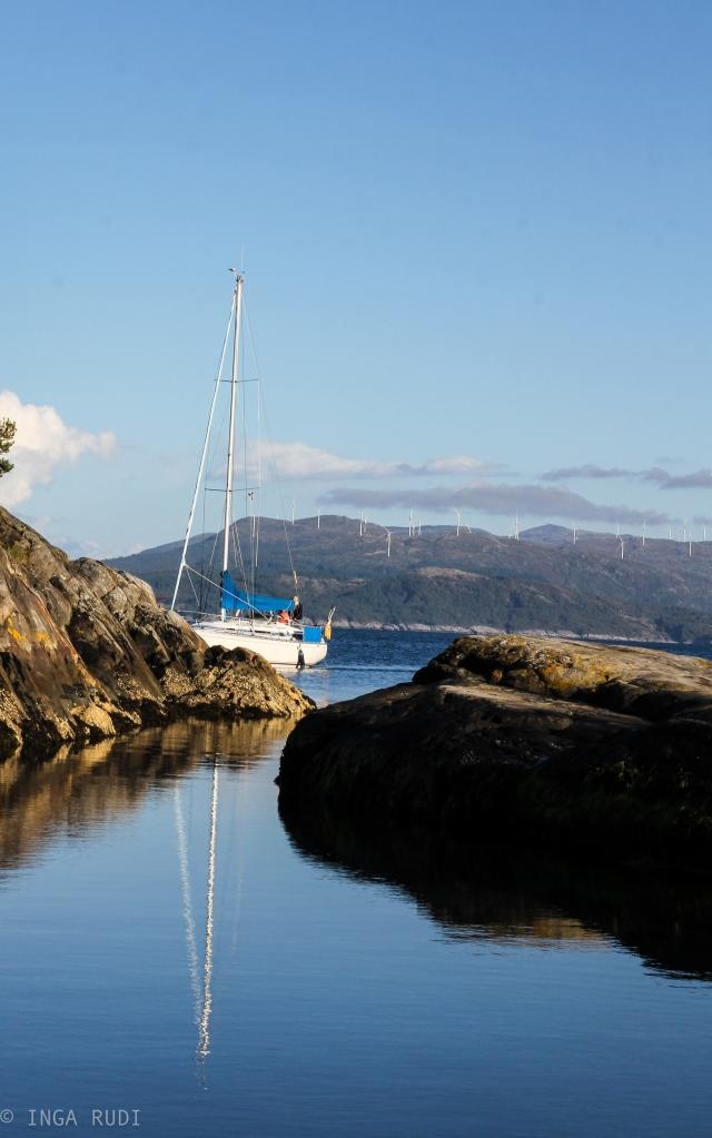 sail boat Bekkjarvik