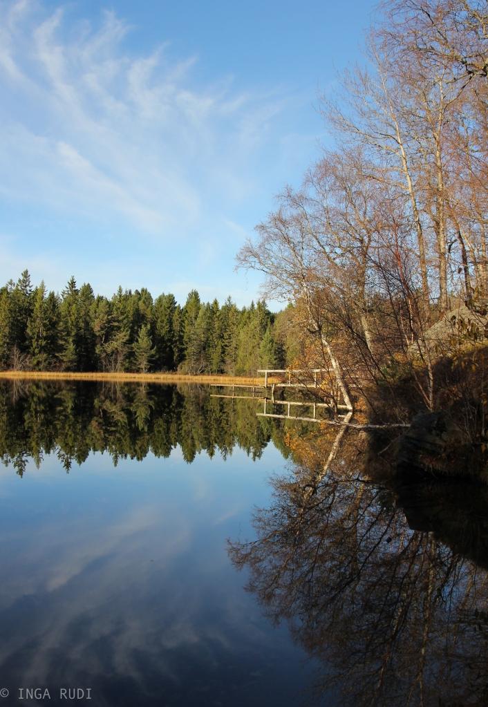 Autumn reflections at Kyvannet2