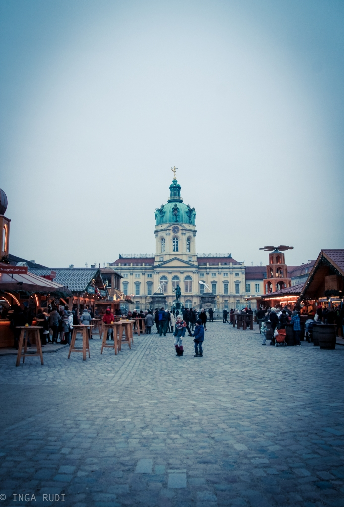 Schloss Charlottenburg with Christmas Market
