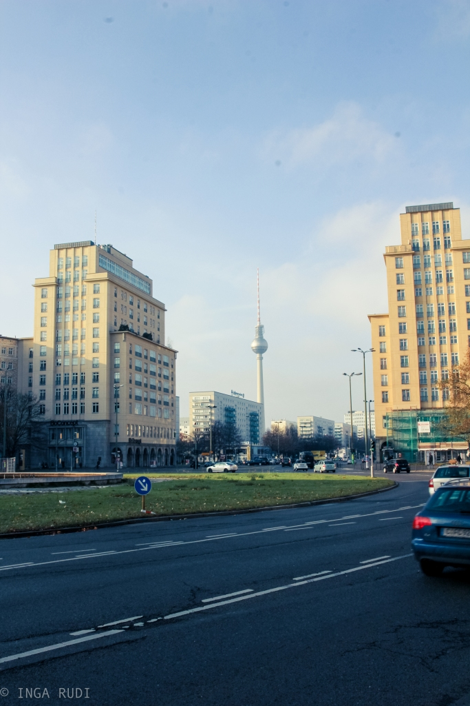 karl-marx-allee toward alexanderplatz