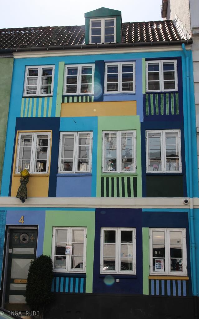 multicolored house cph