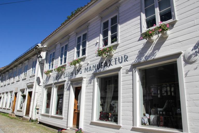 nice shop front Tvedestrand