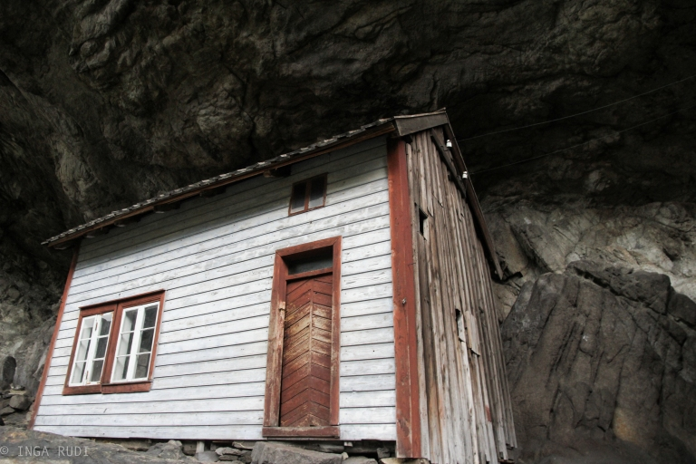 house under the rock