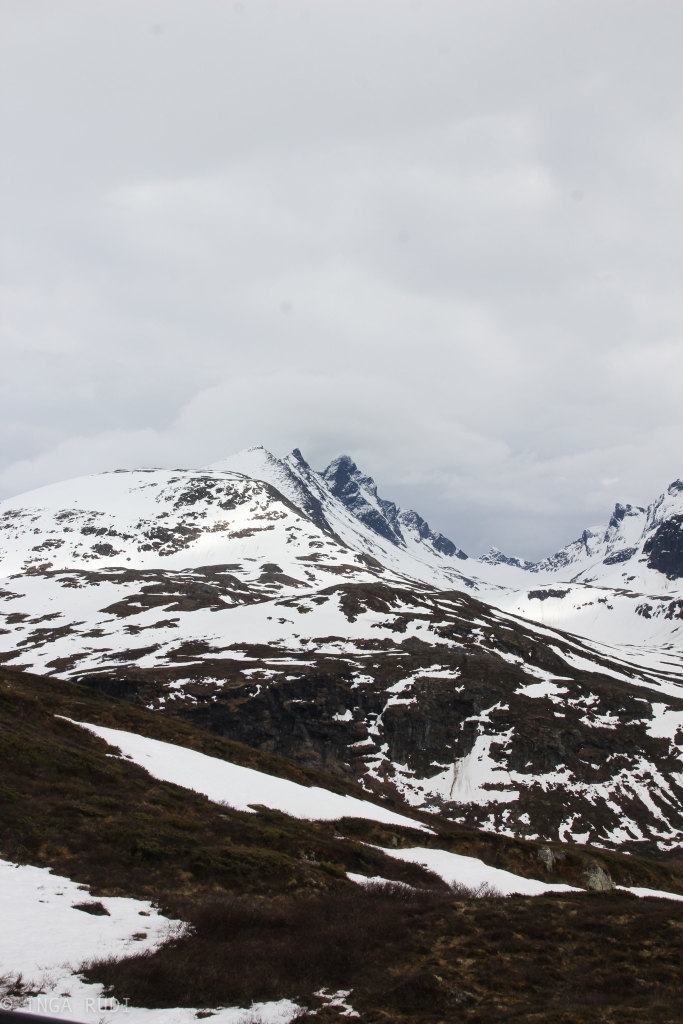 mountain tops sognefjellet